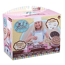 Girl Gourmet Ice Cream Sandwich Maker Circles Mold