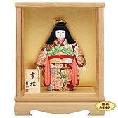 日本人形木目込み 一秀作浮世人形 市松人形 女の子 ケース入り 内裏雛格安価格 ひな祭り 歴女