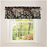 """""""The Woods"""" Camo Curtain Valance Forest (84"""" X 15"""" +3)"""