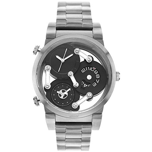 STORM Tri-Mez Men's Watch silver/black 47236/BK