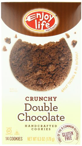 Enjoy Life Double chocolate Crunchy Cookie, 6.3-Ounce (Pack of 6)