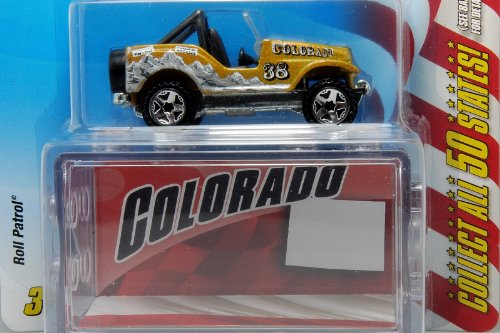 Hot Wheels Connect Cars Colorado Roll Patrol 1:64 Scale - 1