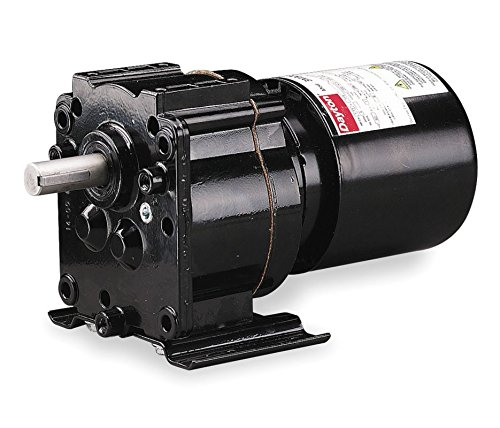 Dayton Model 3M326 Gear Motor Tefc, 4.1 Rpm 1/40 Hp 115 Volts 60Hz.
