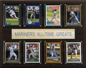 MLB Seattle Mariners All-Time Greats Plaque by C&I Collectables