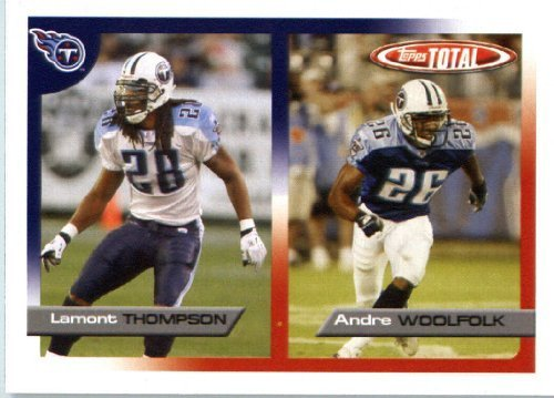 2005 Topps Total Football Karte ( ) # 143 Andre Woolfolk Tennessee Titans