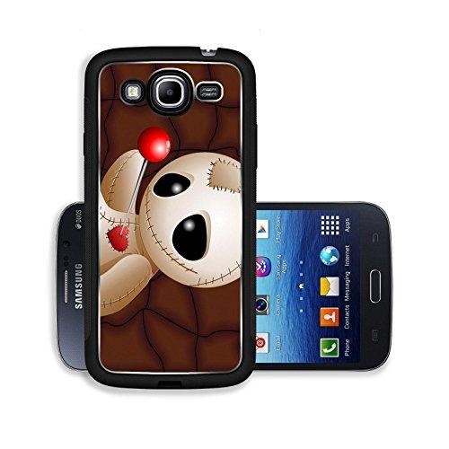 Liili Premium Samsung Galaxy Mega 5.8 Aluminum Backplate Bumper Snap Case ID: 23107052 Voodoo Doll Cartoon in Love x GRiver