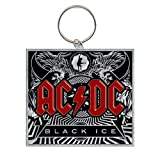 AC/DC Keyring Design: Black Ice