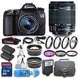 Canon EOS 70D DSLR Camera + Canon E