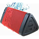 Wireless Speaker, Bluetooth Speaker, Portable Speaker: The OontZ Angle 3 Ultra Portable Speaker 10W+ Louder Volume More Bass IPX5 Water Resistant Shower Speaker for iPad, RED by Cambridge SoundWorks