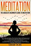 img - for Meditation: The Absolute Beginner's Guide to Meditation: How To Become Happier, More Satisfied, Enhance Self-Esteem, Lessen Stress, Fear and Depression, ... How To Meditate, Meditation for Beginners) book / textbook / text book