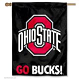 OSU Buckeyes House Flag GO BUCKS