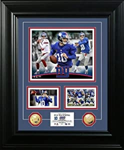 Eli Manning Marquee 2013 Gold Coin Photo Mint by The Highland Mint