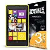 Invisible Defender - Nokia Lumia 1020 with [3 PACK/Lifetime Replacement Warranty] The World's Best Selling Premium EXTREME CLEAR Screen Protector for Nokia Lumia 1020 2013 Model (AT&T, T-Mobile, Sprint, Verizon)