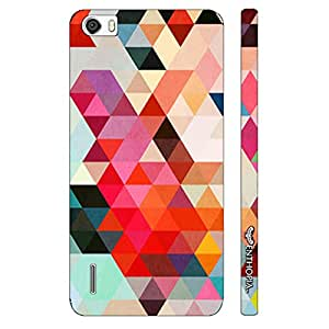 Huawei Honor 6 Triangular Art designer mobile hard shell case by Enthopia