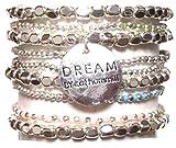 CAT HAMMILL ( キャットハミル ) オーストラリア デザイン キラキラ シルバー ブレスレットセット pebble bracelet silver set ブレスレット ポーチ ゲット 海外 ブランド