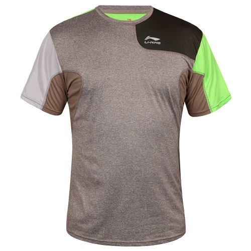 li-ning-a217-t-shirt-da-uomo-marrone-marrone-m