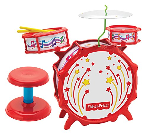 Fisher Price Music Big Bang Drumset with Lights (Fisher Drum Set compare prices)