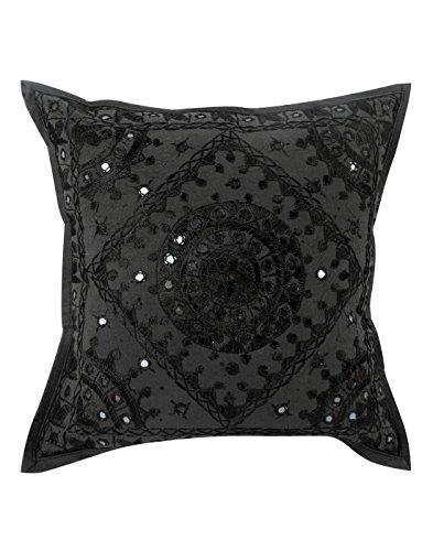 vintage schwarze einzel wohnzimmer zubeh r kissenbez ge. Black Bedroom Furniture Sets. Home Design Ideas