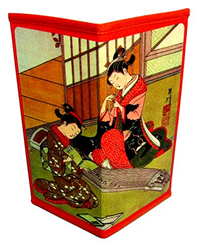 Japanese Rice Paper Wallets Set 4 Wallets Style Group