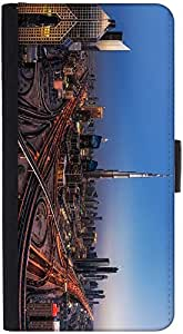 Snoogg Dubai City Designer Protective Phone Flip Back Case Cover For Lenovo Vibe K4 Note