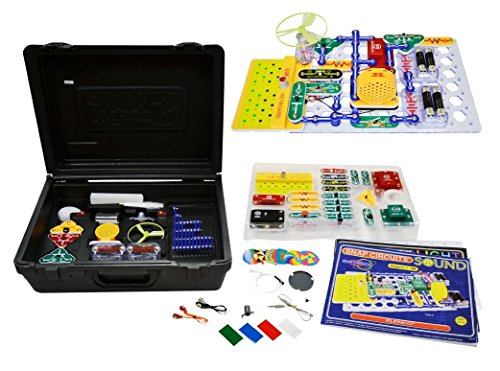 Elenco Snap Circuits Deluxe: Light & Sound Combo Kit