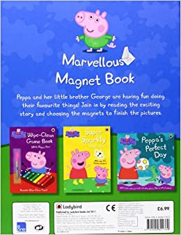 Peppa Pig: Marvellous Magnet Book: Ladybird: 9781409301769: Amazon.com