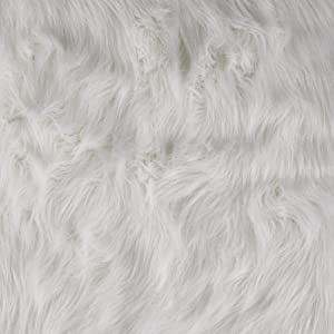 Amazon.com: Faux Fur Arctic Fox White Fabric By The Yard