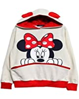 Ninimour- Fashion Sweats à capuche de Femme Casual Mickey Mouse