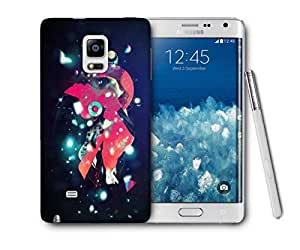 Snoogg Street Lights Printed Protective Phone Back Case Cover For Samsung Galaxy NOTE EDGE