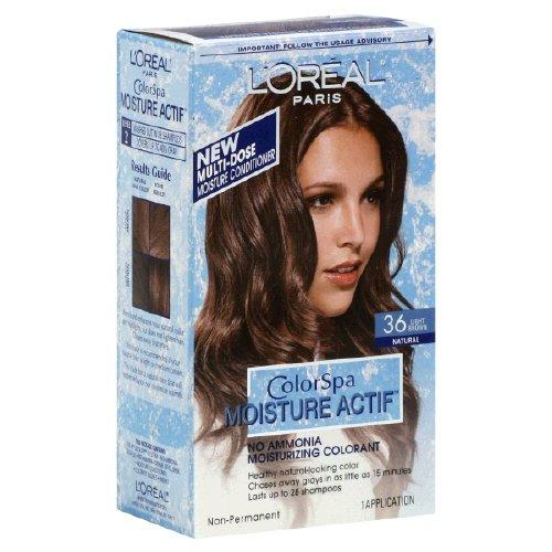 loreal haircolor colorspa moisture actif no ammonia of 22