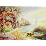 "Dolls Of India ""Colors Of Spring"" Reprint On Paper - Unframed (69.85 X 54.61 Centimeters)"