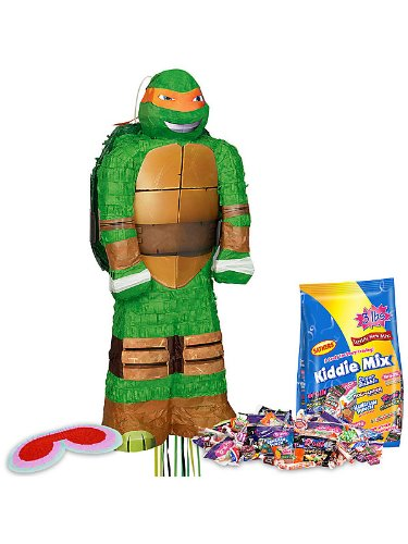 3D Ninja Turtles Pinata Kit (Each)
