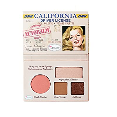 theBalm Autobalm Face Palette, California