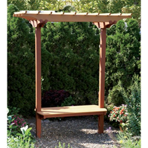 Garden Bench/Trellis: Downloadable Woodworking Plan