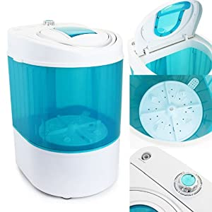 XtremepowerUS Electric Small Mini Portable Compact Washer Washing
