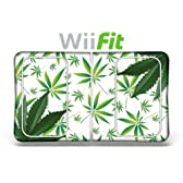 """Wii Fit skin"" ニンテンドー Wii Fit バランスボード 保護シール - Weeds White"