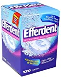 Efferdent Anti-Bacterial Denture Cleanser, Tablets 120 ea
