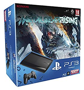 Console PS3 500 Go noire + Metal Gear Rising : Revengeance