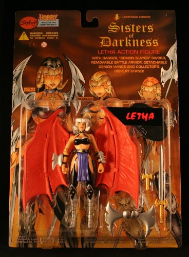 Letha: Sisters of Darkness Action Figure From Lightning Comics