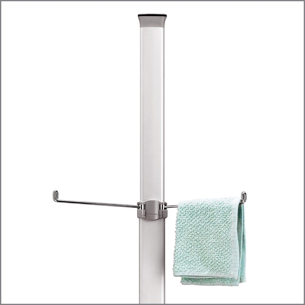 simplehuman tension shower caddy instructions