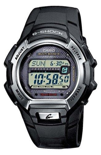G-Shock Men's Quartz Watch with Grey Dial Digital Display and Black Resin Strap GW-M850-1ER