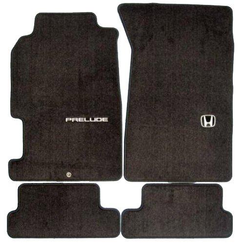 Genuine OEM Honda Prelude Carpet Floor Mats Set of 4 - Black - 1997