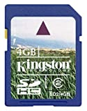 Kingston SDHCメモリーカード 4GB SD2/4GBFE