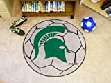 Michigan State Spartans Small Soccer Ball Rug
