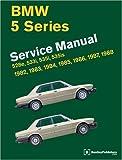 BMW 5-Series: Service Manual, 1982-1988, 528e, 533i, 535i, 535is