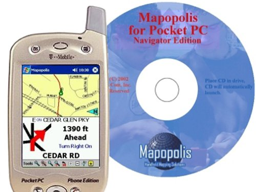 Mapopolis MapPack for Pocket PC