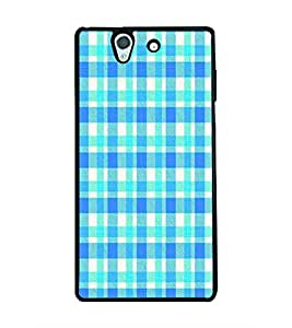 PRINTSWAG BLUE PATTERN Designer Back Cover Case for SONY XPERIA Z