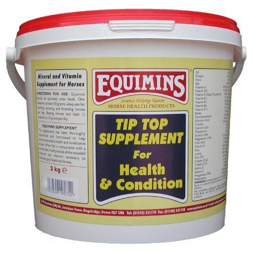 Equimins Horse Supplement Tip Top Powder 3Kg Tub