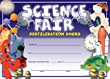 Science Fair Participation Fit-in-a-Frame Award (0742403505) by School Specialty Publishing