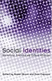 Social Identities: Motivational, Emotional, Cultural Influences (1841695491) by Brown, Rupert